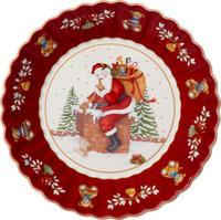 Veľká miska, Santa na streche, 25 cm Toy's Fantasy