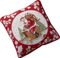 Vankúš, Santa na streche, 50 x 33 cm Toy's Fantasy