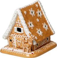 Svietnik, perníková chalúpka Winter Bakery Decor.