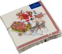 Servítky, Santa na streche, veľké Winter Specials