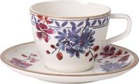 Kávová šálka 0,25 l s podšálkou Art. Pro. Lavender