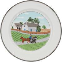 Plytký tanier 27 cm Farmár Design Naif