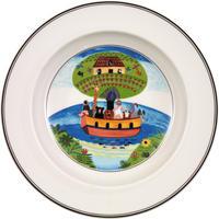 Hlboký tanier 21 cm Noemova archa Design Naif