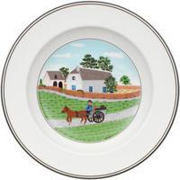 Hlboký tanier 21 cm Farmár Design Naif
