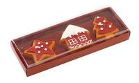 Sviečky hviezda, dom, stromček, 3 ks Winter Bakery