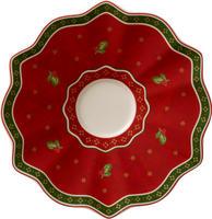 Červená podšálka 17 cm Toy's Delight
