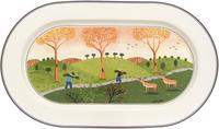 Oválny tanier 34 cm Design Naif