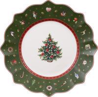 Zelený dezertný tanier 24 cm Toy's Delight