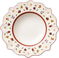 Biely hlboký tanier 26 cm Toy's Delight