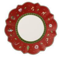 Červený tanier na maslo/chlieb 17 cm Toy's Delight
