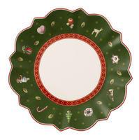 Zelený tanier na maslo/chlieb 17 cm Toy's Delight