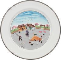 Plytký tanier 27 cm Hydináreň Design Naif