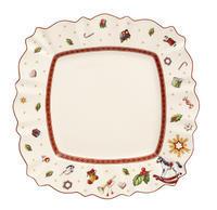 Hranatý plytký tanier 28,5 x 28,5 cm Toy's Delight