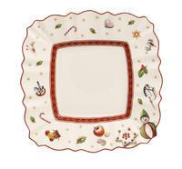 Hranatý tanier na maslo/chlieb 17 cm Toy's Delight