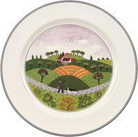 Plytký tanier 27 cm Poľovník Design Naif