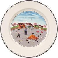 Dezertný tanier 21 cm Hydináreň Design Naif