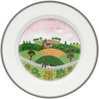Dezertný tanier 21 cm Poľovník Design Naif