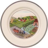 Tanier na chlieb/maslo 17 cm Oranie Svadba Naif