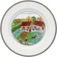 Tanier na chlieb/maslo 17 cm Farma Svadba Naif