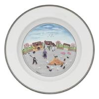 Hlboký tanier 21 cm Hydináreň Design Naif