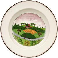 Hlboký tanier 21 cm Poľovník Design Naif
