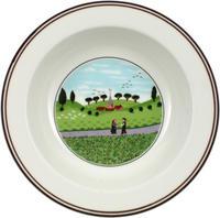 Hlboký tanier 20 cm Stretnutie Design Naif