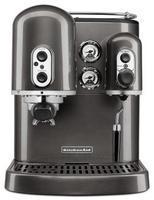Espresso kávovar Artisan strieborne šedý KA