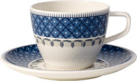 Kávová šálka 0,25 l s podšálkou Casale Blu