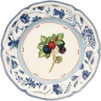 Dezertný tanier, černice 21 cm Cottage