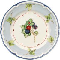 Dezertný tanier, modrý okraj 21 cm Cottage