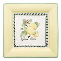 Hranatý plytký tanier 27 cm French Garden Macon