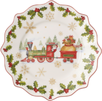Dezertný tanier 24 cm '17 Annual Christmas Edition