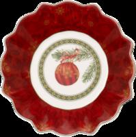 Malá miska, vianočná guľa, 16 cm Toy's Fantasy
