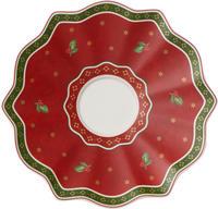 Červená podšálka pod hrnček 19 cm Toy's Delight