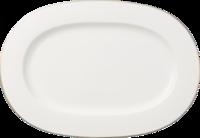 Oválny tanier 41 cm Anmut Platinum No.1