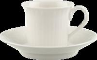 Espresso šálka 0,10 l s podšálkou Cellini