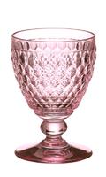 Ružový pohár na červené víno Boston Coloured