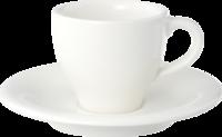 Espresso šálka s podšálkou 6 ks Home Elements