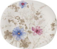 Oválny dezertný tanier 23 x 19 cm Mariefleur Gris
