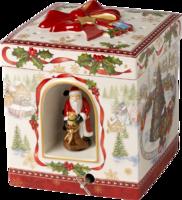 Hracia skrinka, hranatý darček Christmas Toys
