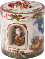 Hracia skrinka, okrúhly darček Christmas Toys