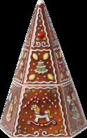 Dóza na perníky, pyramída 21 cm Winter Bakery Dec.