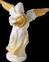 Anjel hrajúci na harfe 15 cm Christmas Angels
