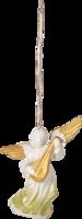 Závesná ozdoba, anjelik s lutnou Chrismtas Angels