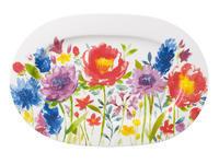 Oválny tanier 34 cm Anmut Flowers