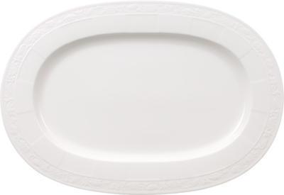 Oválny tanier 41 cm White Pearl