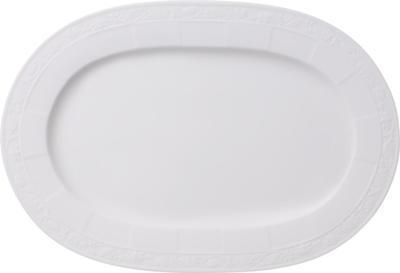 Oválny tanier 35 cm White Pearl - 1