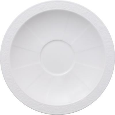 Tanierik pod polievkovú šálku 18 cm White Pearl - 1