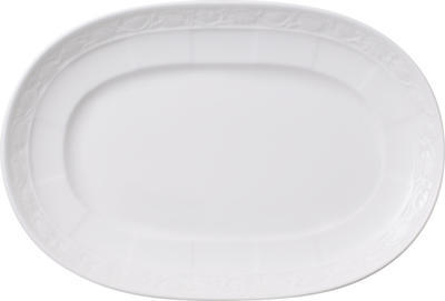 Oválny tanierik 22 cm White Pearl - 1