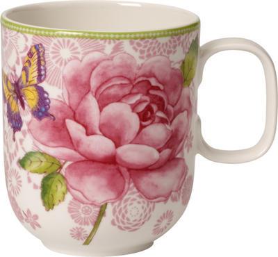 Hrnček, ružový 0,35 l Rose Cottage - 1